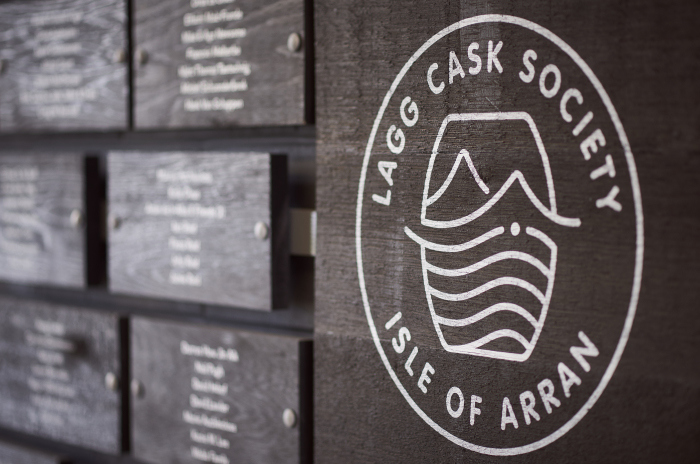Lagg Cask Society Wall